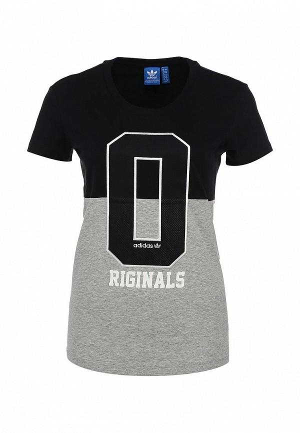 Футболка с надписями Adidas Originals (Адидас Ориджиналс) S19901: изображение 1