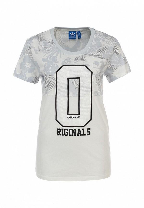 Футболка с надписями Adidas Originals (Адидас Ориджиналс) S19902: изображение 1