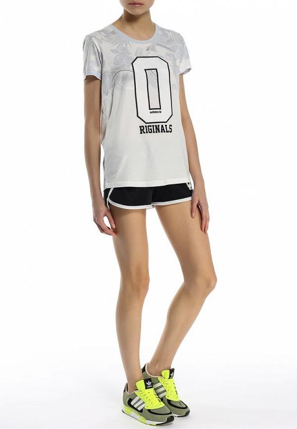 Футболка с надписями Adidas Originals (Адидас Ориджиналс) S19902: изображение 3