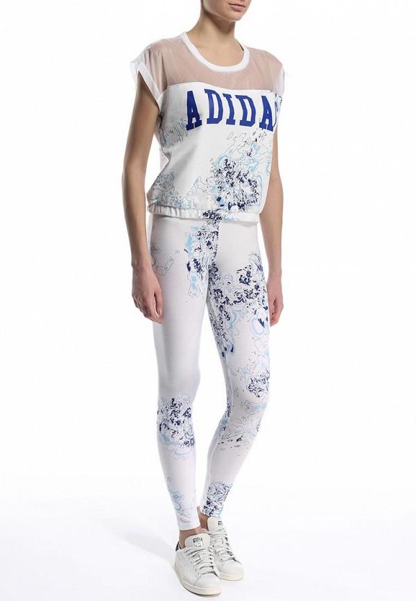 Женские леггинсы Adidas Originals (Адидас Ориджиналс) S19949: изображение 3