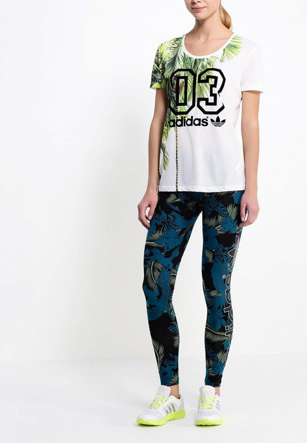 Женские леггинсы Adidas Originals (Адидас Ориджиналс) S19999: изображение 3