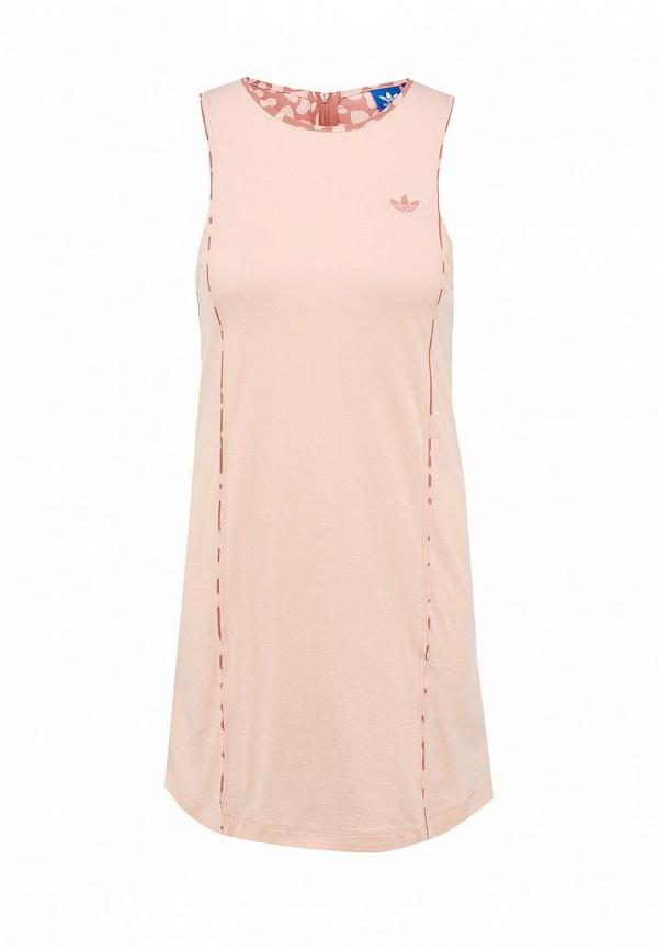 Платье-мини Adidas Originals (Адидас Ориджиналс) S20005: изображение 2