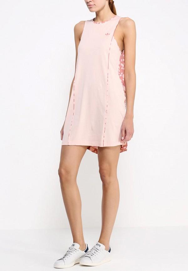 Платье-мини Adidas Originals (Адидас Ориджиналс) S20005: изображение 4