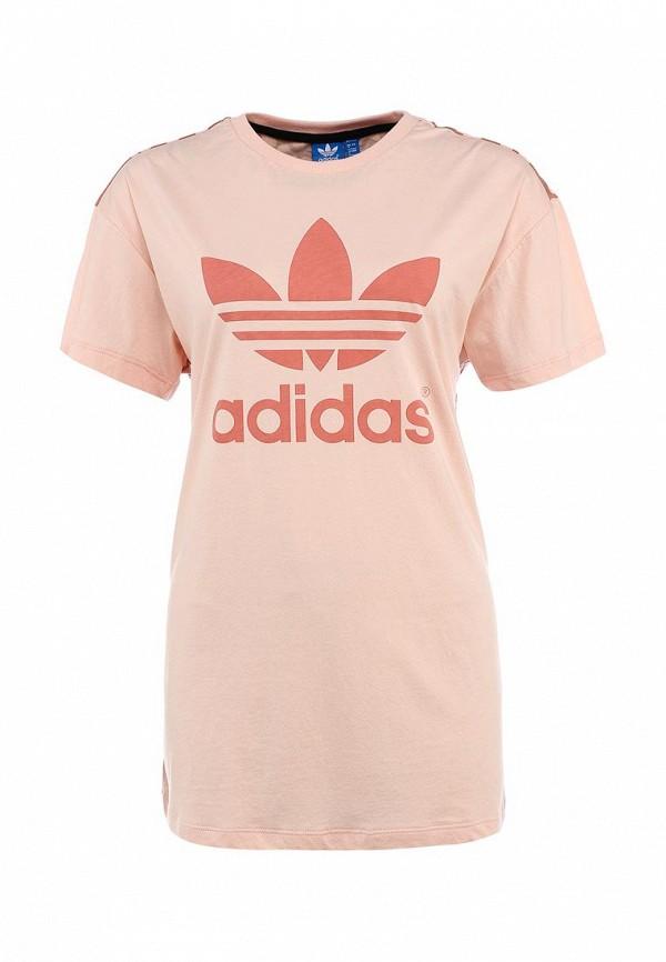 Футболка с надписями Adidas Originals (Адидас Ориджиналс) S20020: изображение 1