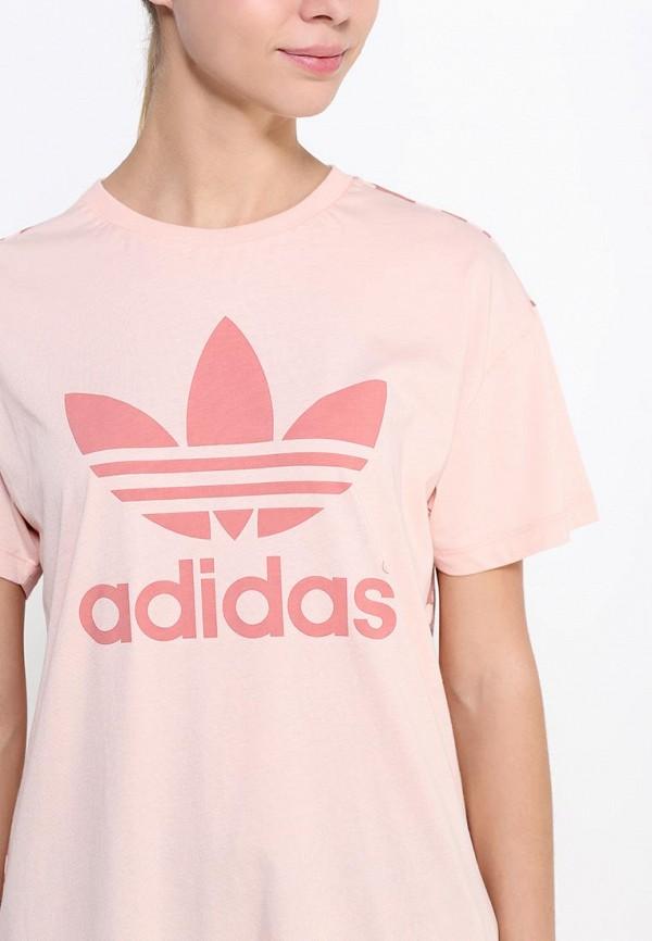 Футболка с надписями Adidas Originals (Адидас Ориджиналс) S20020: изображение 2