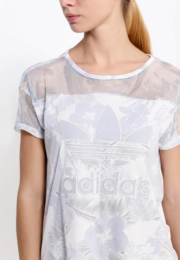 Футболка с коротким рукавом Adidas Originals (Адидас Ориджиналс) S20027: изображение 2
