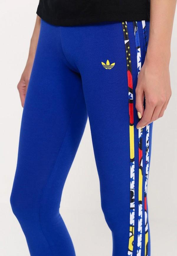 Женские леггинсы Adidas Originals (Адидас Ориджиналс) A96215: изображение 2