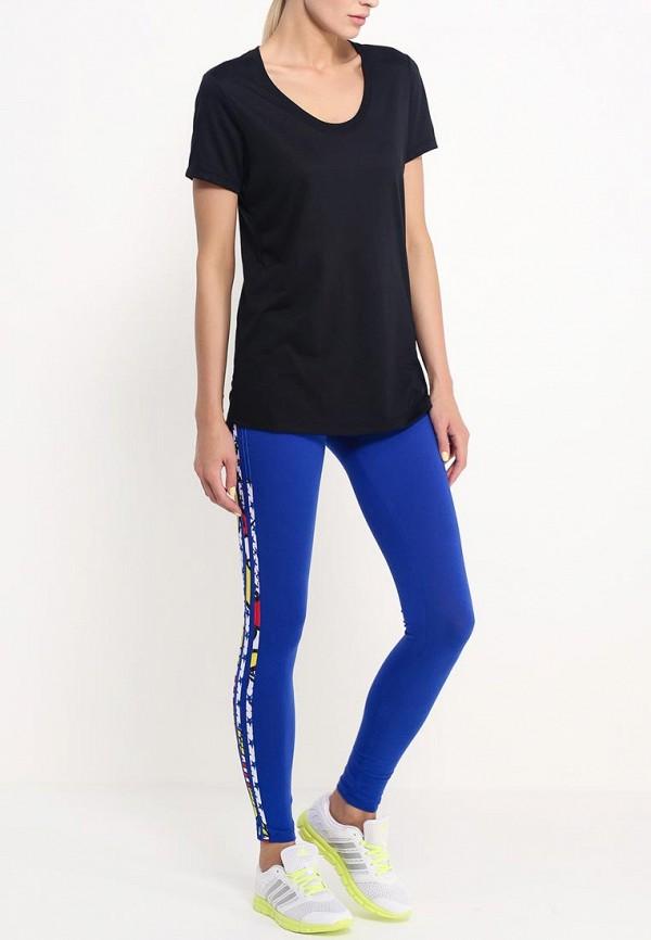 Женские леггинсы Adidas Originals (Адидас Ориджиналс) A96215: изображение 3