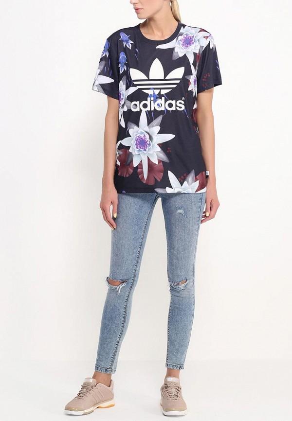 Спортивная футболка Adidas Originals (Адидас Ориджиналс) AC2128: изображение 3