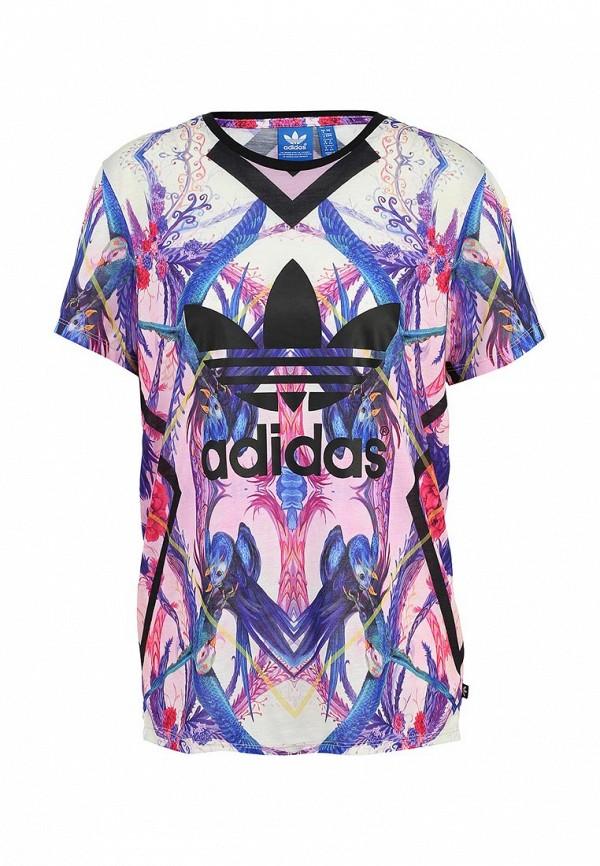 Футболка с коротким рукавом Adidas Originals (Адидас Ориджиналс) AB1980: изображение 1
