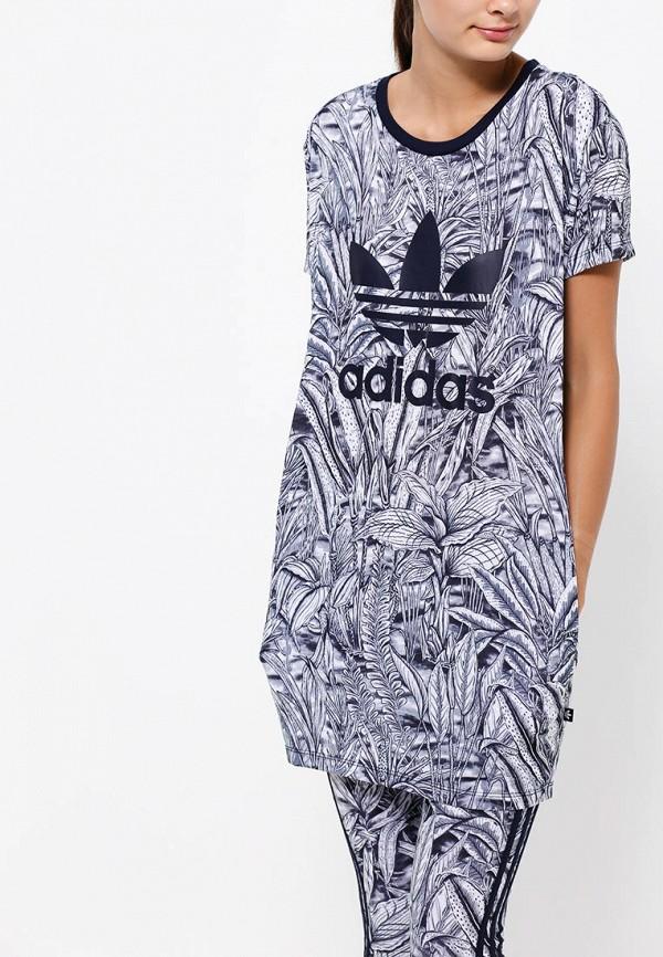 Платье-мини Adidas Originals (Адидас Ориджиналс) AB1996: изображение 2