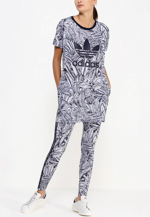Платье-мини Adidas Originals (Адидас Ориджиналс) AB1996: изображение 3
