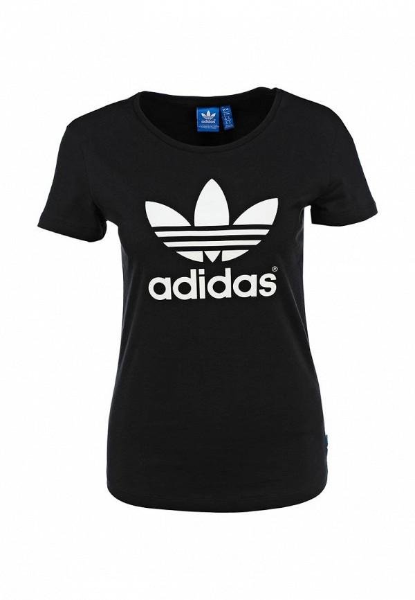Футболка с надписями Adidas Originals (Адидас Ориджиналс) AB2020: изображение 1
