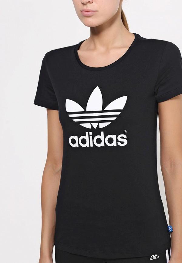 Футболка с надписями Adidas Originals (Адидас Ориджиналс) AB2020: изображение 2