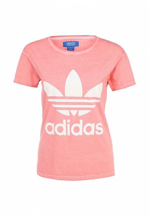 Футболка с надписями Adidas Originals (Адидас Ориджиналс) AB2151: изображение 1