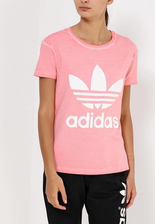 Футболка с надписями Adidas Originals (Адидас Ориджиналс) AB2151: изображение 2