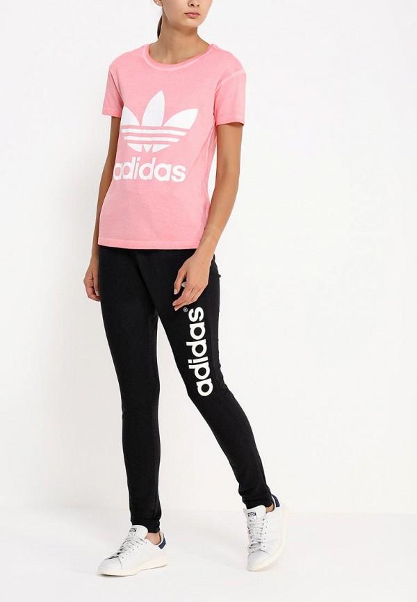 Футболка с надписями Adidas Originals (Адидас Ориджиналс) AB2151: изображение 3