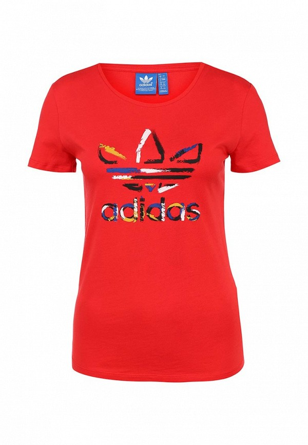 Футболка с надписями Adidas Originals (Адидас Ориджиналс) AB2191: изображение 1