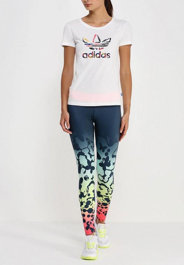 Футболка с надписями Adidas Originals (Адидас Ориджиналс) AB2192: изображение 3