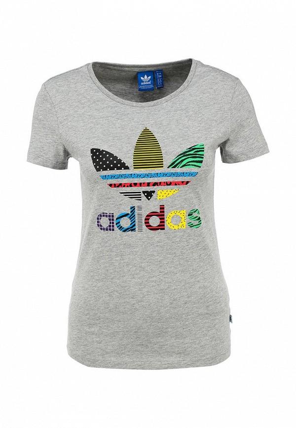 Футболка с надписями Adidas Originals (Адидас Ориджиналс) AB2327: изображение 1