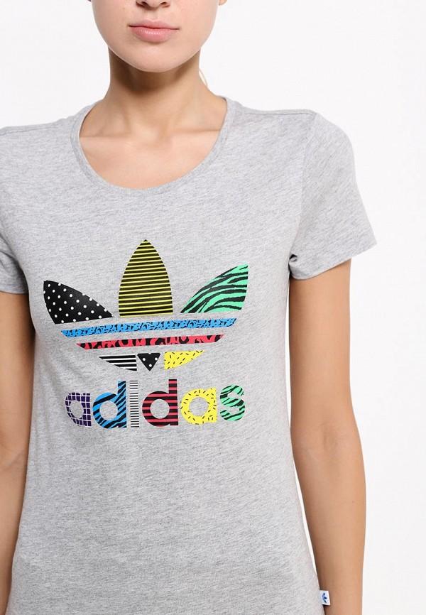 Футболка с надписями Adidas Originals (Адидас Ориджиналс) AB2327: изображение 2