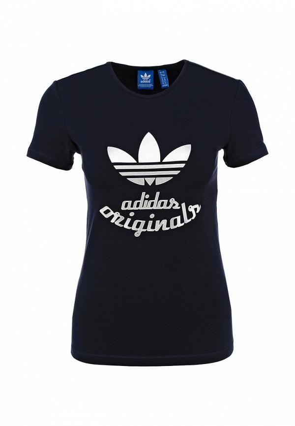 Футболка с надписями Adidas Originals (Адидас Ориджиналс) AB2422: изображение 1