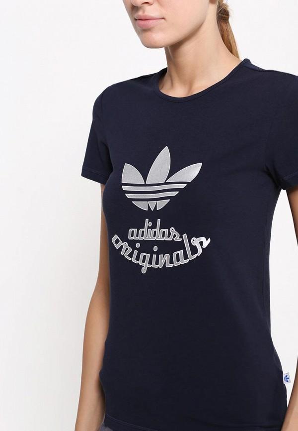 Футболка с надписями Adidas Originals (Адидас Ориджиналс) AB2422: изображение 2