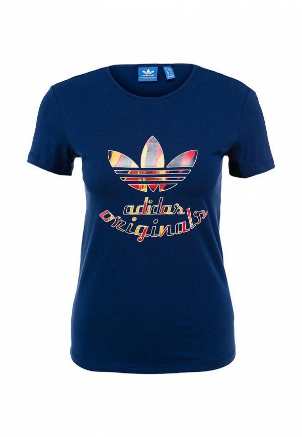 Футболка с надписями Adidas Originals (Адидас Ориджиналс) AB2424: изображение 1