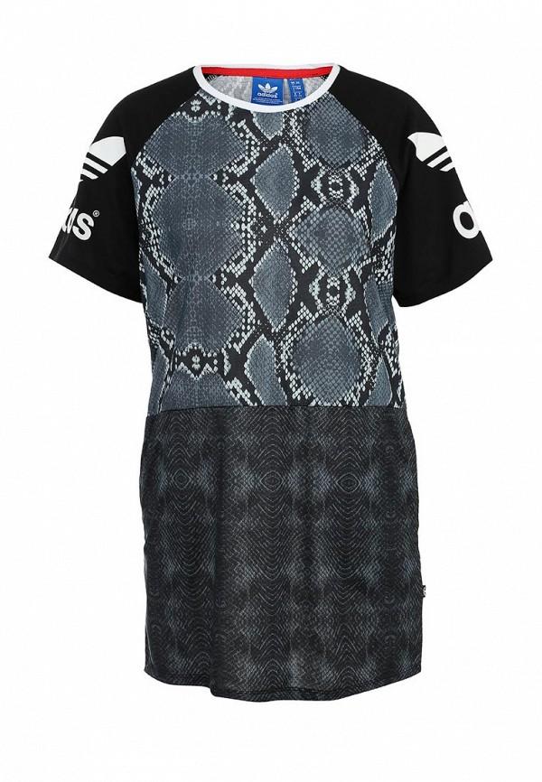 Повседневное платье Adidas Originals (Адидас Ориджиналс) AB2628: изображение 1