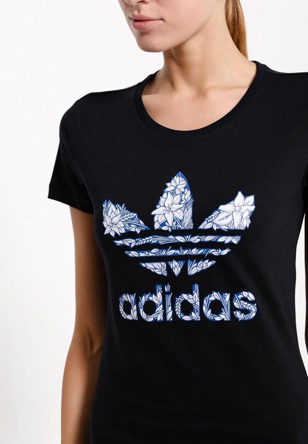 Футболка с надписями Adidas Originals (Адидас Ориджиналс) AB6999: изображение 2