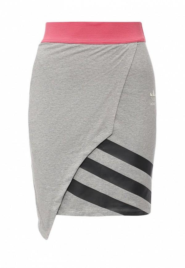 Мини-юбка Adidas Originals (Адидас Ориджиналс) AJ7163: изображение 1