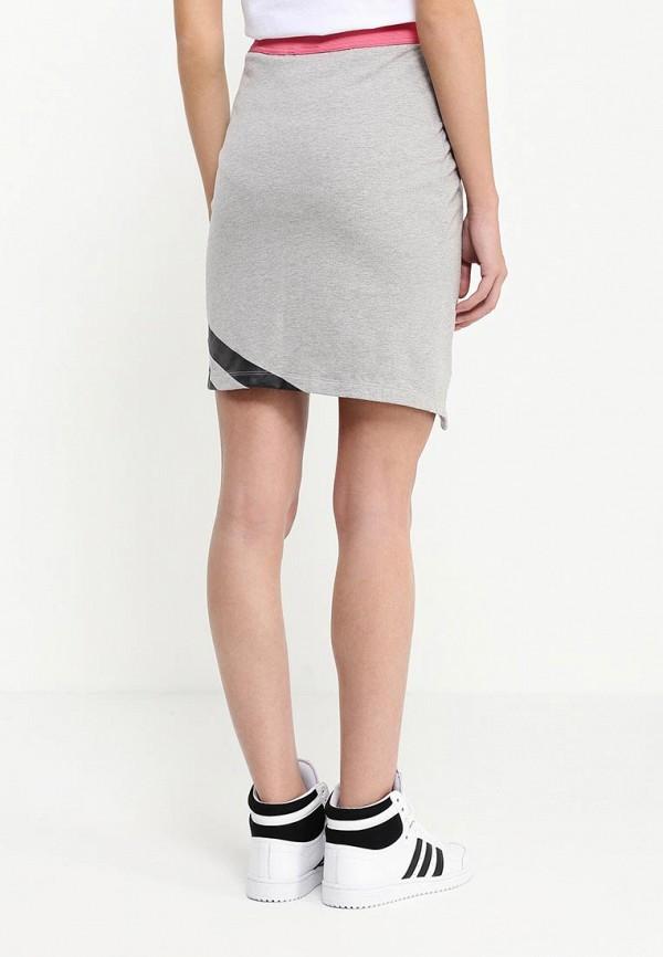 Мини-юбка Adidas Originals (Адидас Ориджиналс) AJ7163: изображение 4