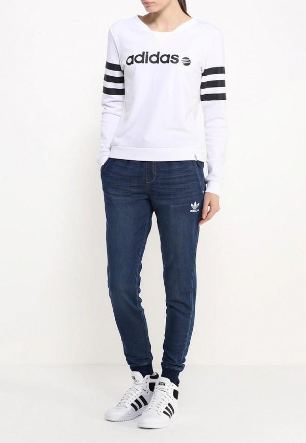 Женские спортивные брюки Adidas Originals (Адидас Ориджиналс) AJ7193: изображение 2