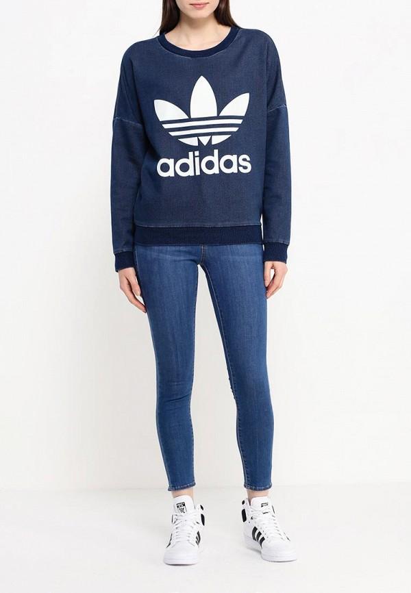 Толстовка Adidas Originals (Адидас Ориджиналс) AJ7195: изображение 2