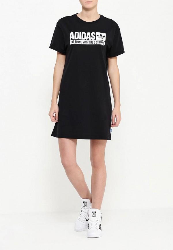 Платье-мини Adidas Originals (Адидас Ориджиналс) AJ7647: изображение 2
