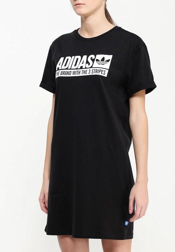 Платье-мини Adidas Originals (Адидас Ориджиналс) AJ7647: изображение 3
