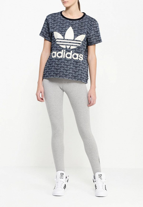 Женские леггинсы Adidas Originals (Адидас Ориджиналс) AJ7655: изображение 2