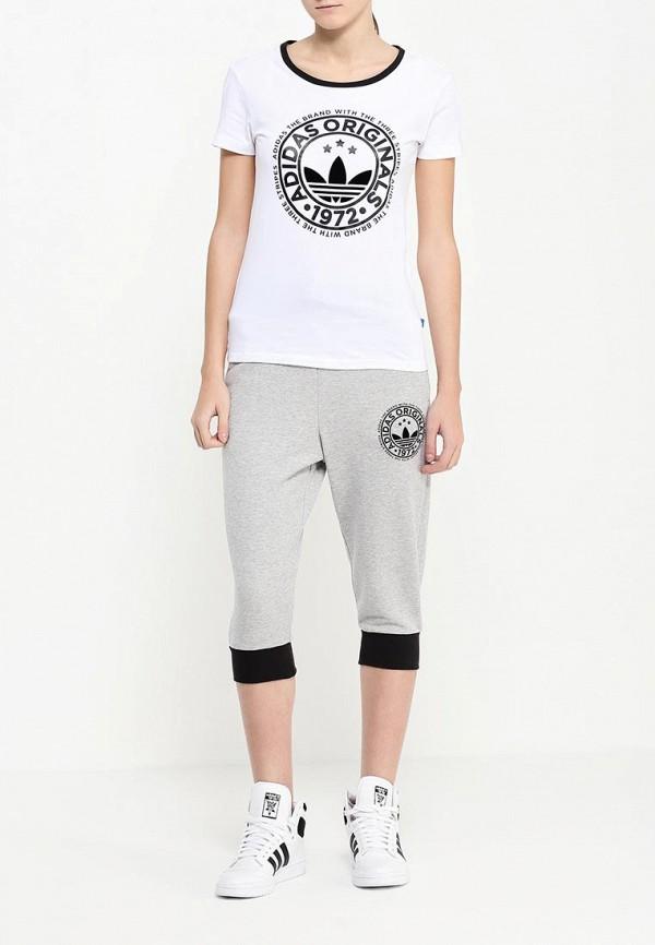 Женские бриджи Adidas Originals (Адидас Ориджиналс) AJ7657: изображение 2