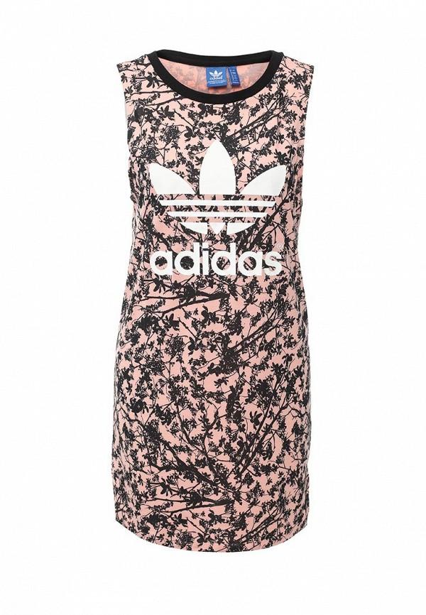 Платье-мини Adidas Originals (Адидас Ориджиналс) AJ8158: изображение 1
