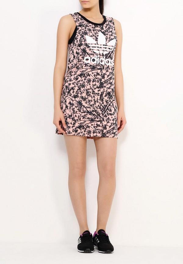 Платье-мини Adidas Originals (Адидас Ориджиналс) AJ8158: изображение 3