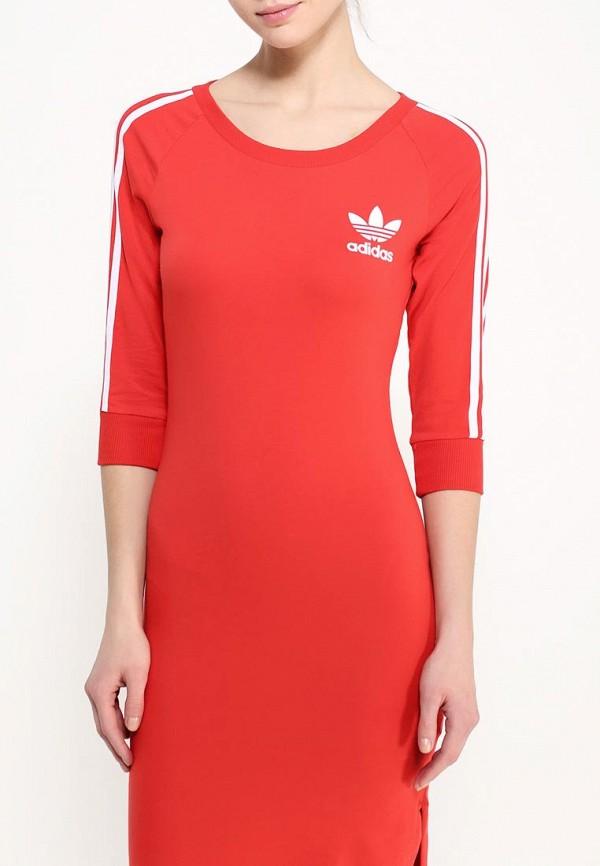 Платье-миди Adidas Originals (Адидас Ориджиналс) AJ8164: изображение 5