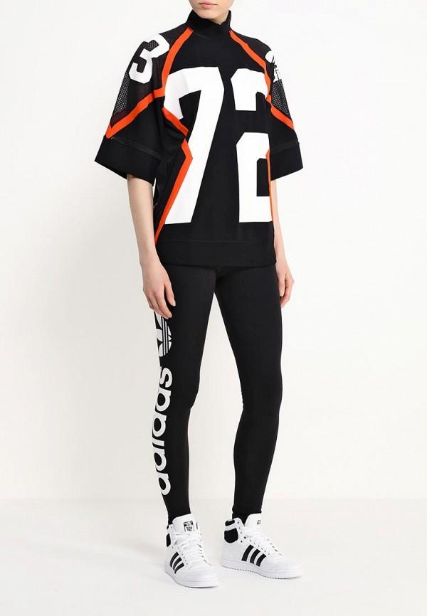 Футболка с надписями Adidas Originals (Адидас Ориджиналс) AJ8865: изображение 2