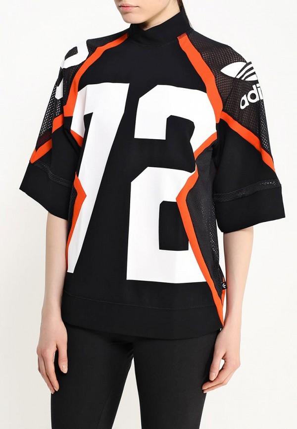 Футболка с надписями Adidas Originals (Адидас Ориджиналс) AJ8865: изображение 3