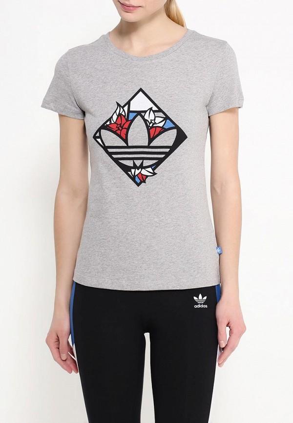 Футболка с коротким рукавом Adidas Originals (Адидас Ориджиналс) AJ8923: изображение 3