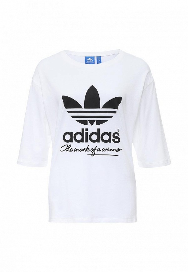 Футболка с надписями Adidas Originals (Адидас Ориджиналс) AJ8939