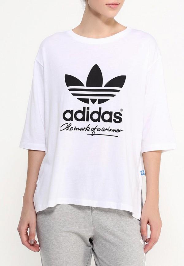 Футболка с коротким рукавом Adidas Originals (Адидас Ориджиналс) AJ8939: изображение 3