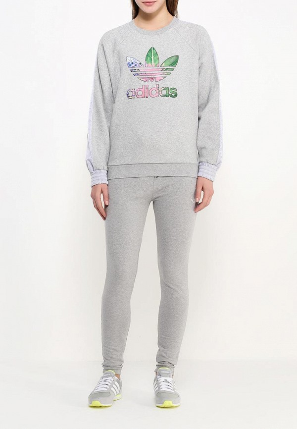 Толстовка Adidas Originals (Адидас Ориджиналс) AK0404: изображение 2
