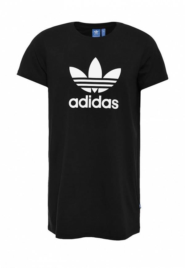 Платье-мини Adidas Originals (Адидас Ориджиналс) AY8123