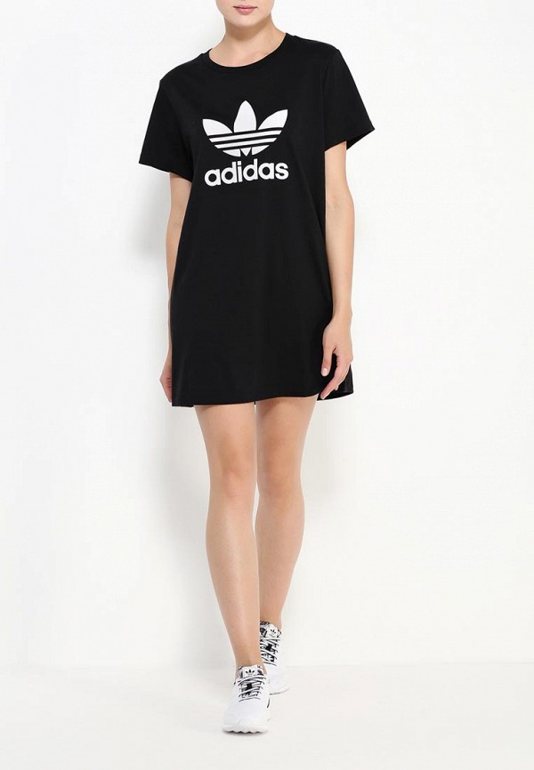 Платье-мини Adidas Originals (Адидас Ориджиналс) AY8123: изображение 3