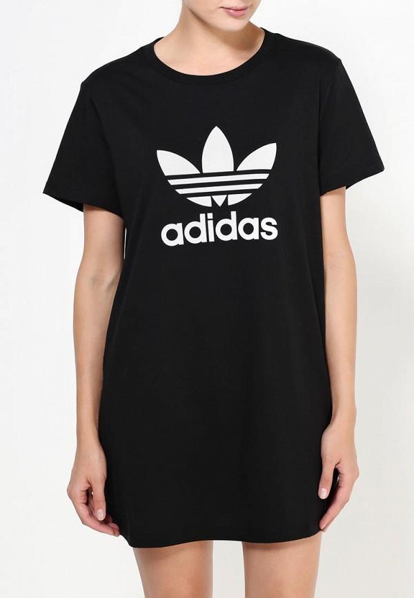 Платье-мини Adidas Originals (Адидас Ориджиналс) AY8123: изображение 5